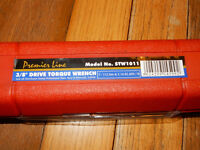 "NEW AND UNUSED: Sealey STW1011 Torque Wrench Micrometer Style 3/8""Sq Drive 7-112Nm(5-83lb.ft)"