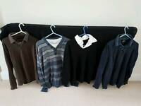 Mens tops and shirts bundle.