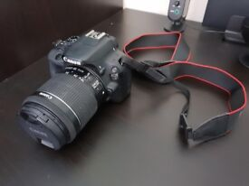 Canon EOS 100d with Canon 18-55mm STM and Canon 40mm STM lenses - Free shipping