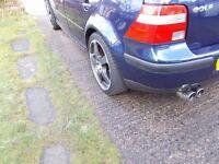2004 Volkswagen Golf 1.6 Match* R32 Looks*Twin DTM Sports Exhaust*Low Mileage*