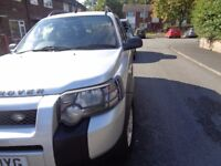 freelander diesel automatic with a full mot runs very well drives like a dream