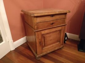 Large cupboard unit with drawer and chest top. Good condition in need of a polish. £75ono