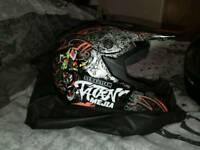 New kids motocross helmet dot approved