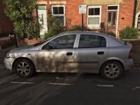 Vauxhall Astra 2002 for sale £350 or nearest offer