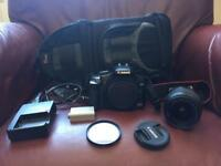 DSLR camera Canon 450d + accessories