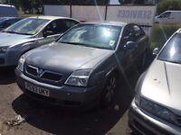 Vauxhall Vectra 2004 Model Grey 2.0 Diesel NO MOT NO TAX SELLING AS SPARES OR REPAIRS