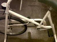 4SALE,1 BASIC EXERCISE BIKE,IN WORKABLE CONDITION,ONLY £5
