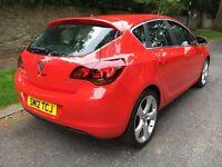 2012 **VAUXHALL ASTRA 1.6I VVT 16V SRI **12**5DR V.low mileage **Cheap/Bargain**