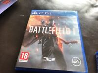 New PS4 game for sale battlefield 1 bargain £18