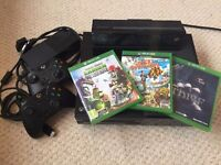 XBOX ONE with KINECT for sale in great condition with box.