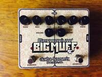Electro Harmonix Dual OD/Fuzz pedal
