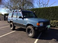 Landrover discovery 300tdi, low mileage, one years MOT, jap import & off road ready