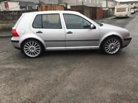 Volkswagen Golf mk4 for swap for small petrol clio preferably