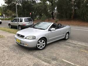 2004 Holden Astra Convertible CC SOFT TOP LOW KS JAN 2018 REGO A1 Sutherland Sutherland Area Preview