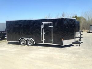 2017 Interstate 8.5' x 20' V-NOSE CARGO TRAILER