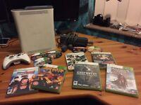 Xbox 360 (60GB) - 10 Games 1 Pad / Controller bundle