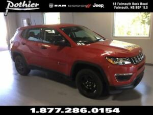 2017 Jeep Compass Sport | HEATED MIRRORS | UCONNECT | KEYLESS |