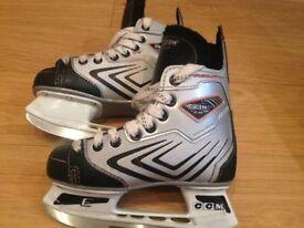 CCM Agility 2.0 Ice Skates Size 1