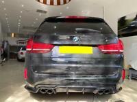 BMW X5M X6M 3D style Carbon Fibre Diffuser brand new