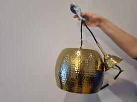 Modern Brass Ceiling Light