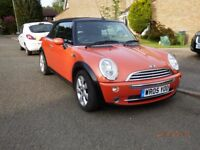 Mini Cooper convertible. 1.6. 2 owners, Lovely condition!