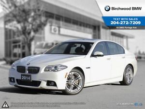 2014 BMW 5 Series 528i Xdrive M-Sport! Premium Package!