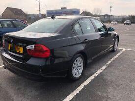 BMW 320D ES 4dr MANUAL 2007 FULL SERVICE FULL MOT HPI CLEAR 3 SERIES DIESEL LOW MILEAGE 2.0 BLACK