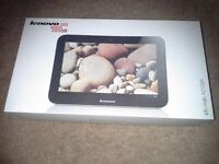 "Lenovo 9 "" 16 gb A2109 tablet. Charger, case, screen saver, boxed as new."
