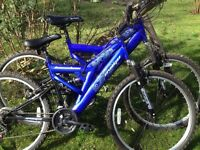 Two men's mountain bikes for sale