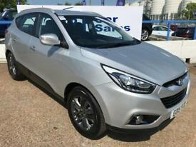 HYUNDAI IX35 1.7 SE CRDI 5d 114 BHP A GREAT EXAMPLE INSIDE AND OUT (silver) 2015