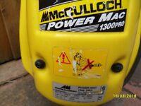 mc culloch power washer