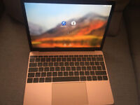 "Apple MacBook 12"" Laptop, 256GB - MNYM2B/A - (June, 2017, Rose Gold) WARRANTY"