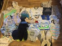 88 items baby boys clothes. 0-3. 3-6. 6-9