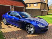 Maserati Ghibli 3.0 TD 4dr (start/stop) Blu Emozione 2014 & 20'' Alloy Wheels