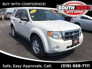 2011 Ford Escape XLT -LEATHER, SUNROOF, USB, AUX