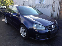 2007-08 VW GOLF MK5 2.0 GT TDI AUTO BLUE 'BREAKING' for parts