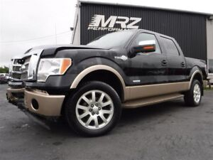 2012 Ford  F-150  KING RANCH - Cuir - Toit - GPS - Crew Cab