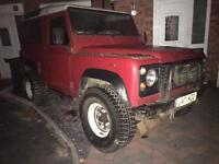 LAND ROVER DEFENDER 90 200TDI GENUINE AND ORIGINAL PROJECT