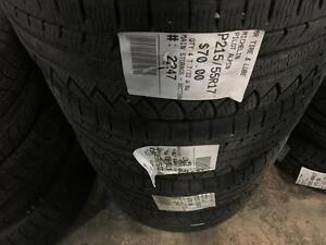 215/55/17 Michelin Pilot Alpin *Winter Tires*