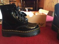 Dr Martens - Molly Boots, NEW, Black, UK 7