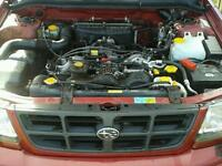 Subaru forester 2.0 petrol estate