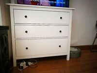 Ikea,hemnes chest of drawers