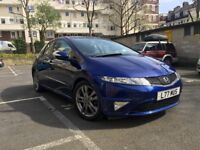 2010 Honda Civic SI I-CTDI 2.2 DIESEL 5 door Hatchback