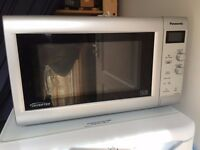 Panasonic Microwave /Oven NN-SD440W Stainless steel. Beautiful clean stainless steel interior.