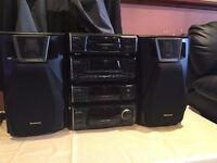 Technics audio/stereo cd player