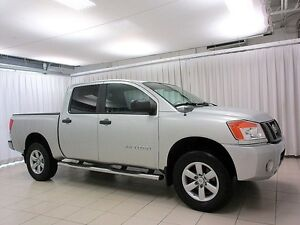 2011 Nissan Titan 4X4 4DR ONE OWNER FRESH TRADE! LOW KM'S!!!