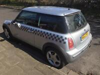 Mini cooper 1.6 hatch silver