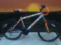 NEW Boss Vortex 26ins Mens Bike Double Disk RRP £299.00