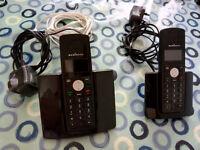 CORDLESS HOUSE PHONES - PAIR