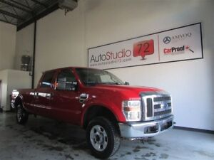 2010 Ford F-250 XLT POWERSTROKE SD **MAGS****4X4**CREW**BOITE 8'